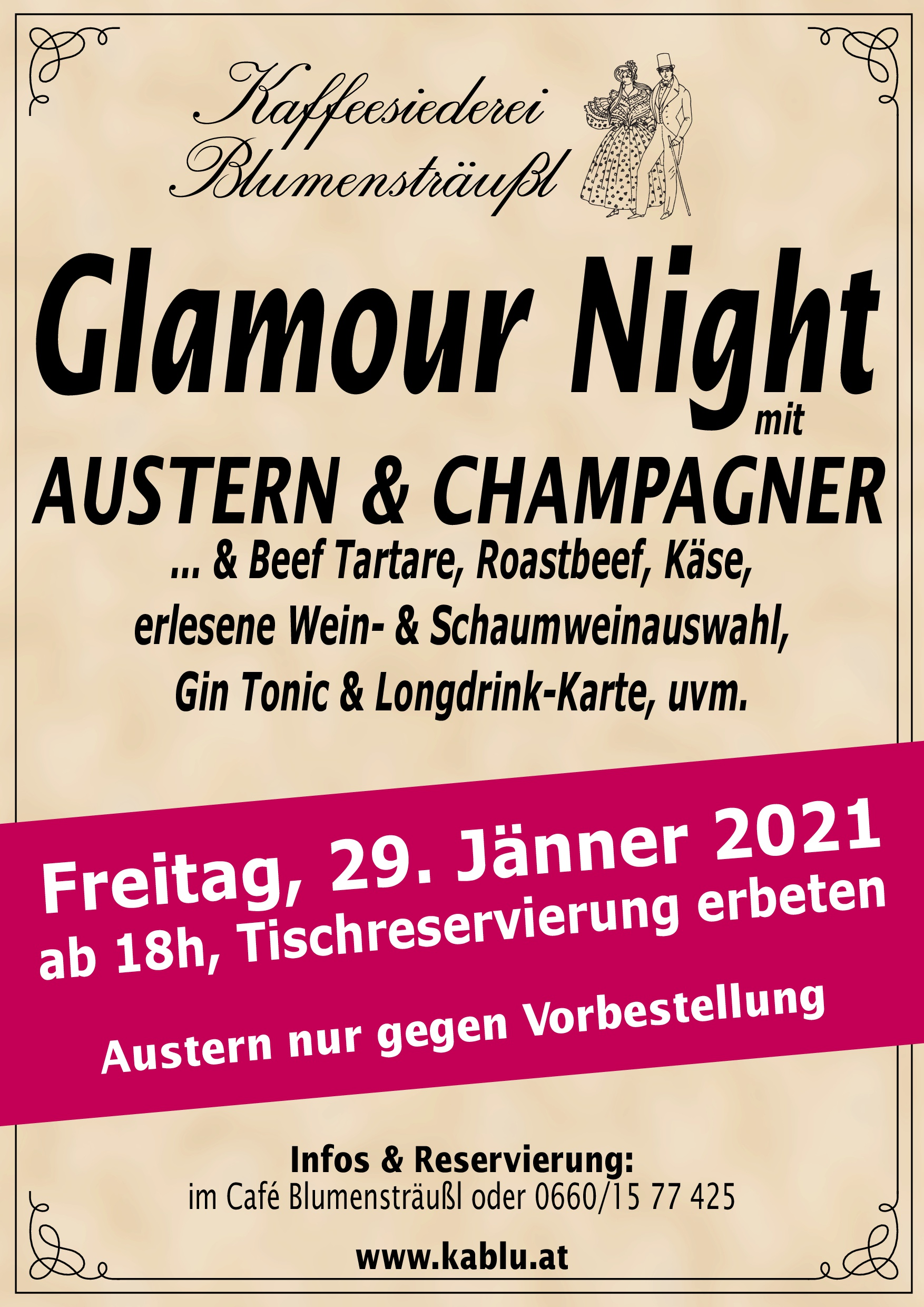 Glamour Night 2021-01-29